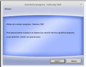 Program Fakturky 7.0.2 na Linux Mint 18.1