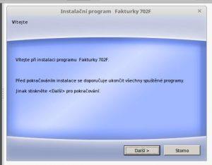 Program Fakturky 7.0.2 na Linux Mint 18.1