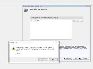 IBM Lotus Domino/Notes – konfigurace ID Vault