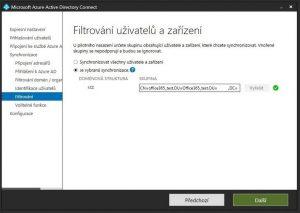 Office 365 s použitím vlastní Active Directory